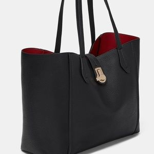 ZARA Shopper Bag:Black, M